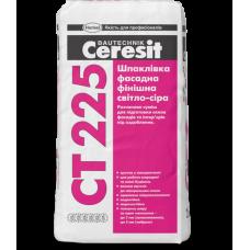 Шпаклевка фасадная финишная белая, 25кг CERESIT CT-225 (Церезит CT-225)