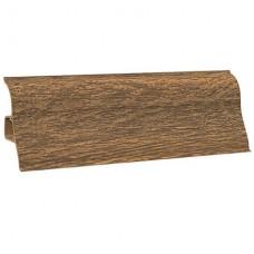 Плинтус напольный ПВХ 149 2,5м дуб (45), Ecoline (Эколайн)