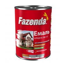 Фазенда  Емаль ПФ-115 белая 0.9кг