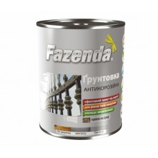 Грунтовка ГФ-021 красно-коричневая 0,9 кг, Fazenda (Фазенда)