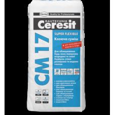 Клеящая смесь, 25кг CERESIT СМ-17 (Церезит СМ-17)