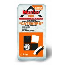 Гипсовая шпаклевка финишная Мастер Сатенпро (Master Satenpro) 25 кг фото