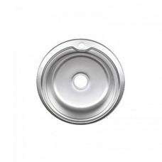 Мойка врезная круглая 7105 Polish 51х18 см, ТМ Cristal (Кристал)