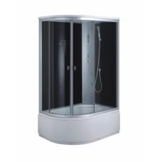 Гидробокс 1200*800*(450) 2150, рама сатин, стекло серое, TM-886/45R, Fabio (Фабио)