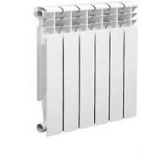 Радиатор отопления биметаллический (500х80х96 мм) 6 секций, Whitex (Витекс)