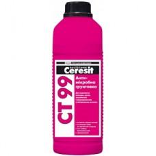 Антимикробная грунтовка, 1л CERESIT CT-99 (Церезит СТ-99)