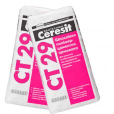 Шпаклевка полимерцементная армированная, 25кг Церезит СТ-29 (CERESIT CT-29)