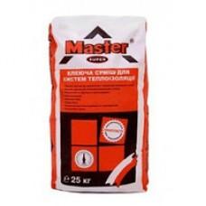 Эластичный клей для систем теплоизоляции, 25кг MASTER SUPER (Мастер Супер)