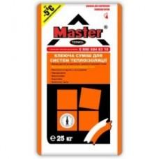 Эластичный клей для систем теплоизоляции от -5, 25кг MASTER TERMOL (Мастер Термол)