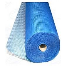 Сетка штукатурная щелочестойкая синяя 6*5мм (50м.кв А-145гр/м2) Masternet (Мастернет)