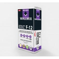 Клей для приклеивания и армировки пенополистерольных плит и минеральной ваты Зима, 25кг Wallmix F-12 (Волмикс Ф-12)