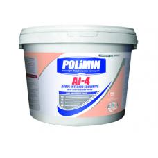 Краска интерьерная акриловая 14кг Полимин АI-4