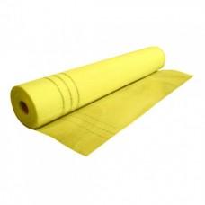 Сетка штукатурная щелочест.6*5мм (50м.кв 165гр/м2) желтая, Полимин (Polimin)