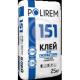 Кладочная смесь универсальная Polirem СКк-151 (Полирем СКк-151) 25кг