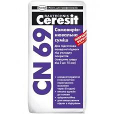 Самовыравнивающаяся смесь, 25кг Церезит CN-69 (CERESIT CN-69) фото