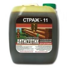 СТРАЖ-11 Антисептик биозащита  5л.  канистра готовый