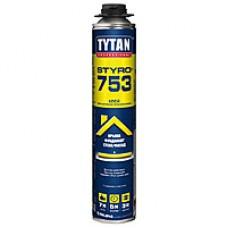 Пена-клей Титан профессиональная (Tytan О2 STYRO 753  GUN B3) 750 мл фото