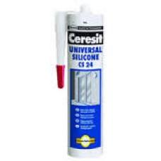 Герметик силиконовый белый, 280мл Церезит - CS-24  CSUWH2  (CERESIT CS-24  CSUWH2)