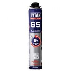 Пена монтажная проф.  О2 65  GUN B3 750 мл, Tytan (Титан)