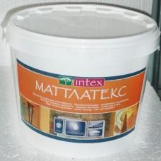 """Краска """"Матлатекс"""" 14кг, Интекс (Intex) фото"""