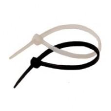Хомут-стяжка кабель 2,5*150 белый (100шт), Right hausen (Райт Хаузен)